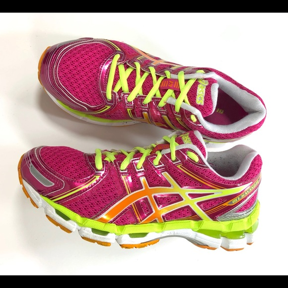 ASICS GEL KAYANO 19 Sz Women's Running Shoes T350N